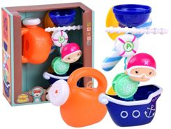 Boat ship bath toy + watering can ZA2979
