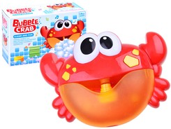 Bubble cheerful crab bath toy ZA2687
