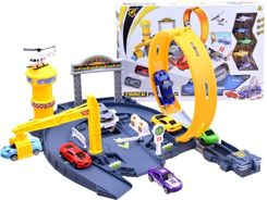 Car park Car launcher track + toy car ZA2689
