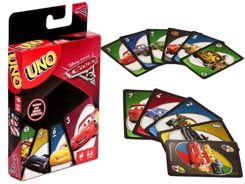 Card game Game UNO Cars 3 Cars Mattel GR0358