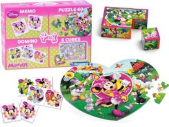 Clementoni game set 4in1 Minnie Mouse GR0359