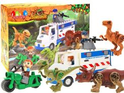 Colored blocks DINOSAUR 35 auto-parts ZA1589
