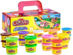 Colorful Dough stock 10 color set ZA2036