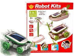 Creative SOLAR ROBOT KITS 6in1 ZA0888