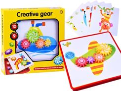 Creative gear Educational puzzle pin pictures ZA2596