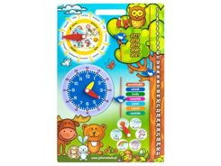 Educational CALENDAR + CLOCK OF SEASON ZA2251