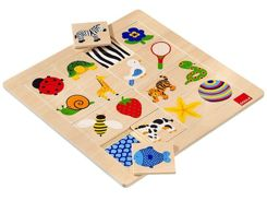 Educational wooden puzzle ZA3033