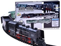 Electric locomotive with wagons RC0448