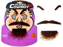 Eyebrows Moustache beard BEARD FOR COWBOY ZA0682