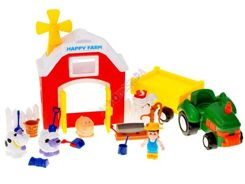 FARM tractor COW BARN animals sheep ZA1267