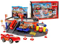 Fairytale parking garage + car 5 pcs. ZA1287