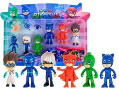 Figures from the fairy tale Pj Masks Pajamas 6 pcs. ZA 2338