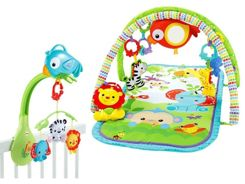 Fisher-Price set 3 in 1 mat and carousel ZA2721