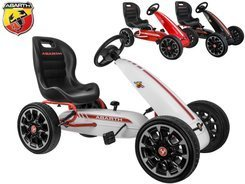 GOKART ABARTH for pedals. Large soft wheels PA0167