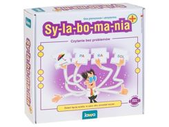 Game puzzle SYLABOmania learning to read GR0318