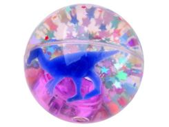 Glowing ball ball with gadget  diameter 7 cm ZA2473