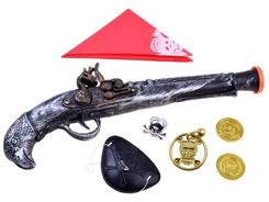 Gun for pirate to play + accessories ZA2509