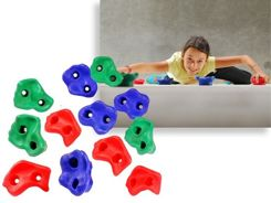 Hudora Handles climbing 12 pieces on the wall 76657