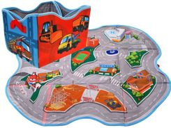 Imaginative BOX for toys Mata 2in1 STREETS ZA1675