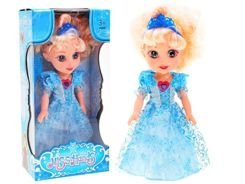Induction doll Anna Elsa Ice Land ZA1762