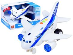 Interactive Plane with sound light ZA2433