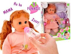 Interactive adorable doll cries laughs ZA1400