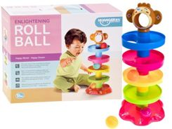 Interactivity color track for balls tower ZA0252