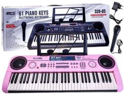 Keyboard ORGANS + Microphone 61key 328-05 IN0078