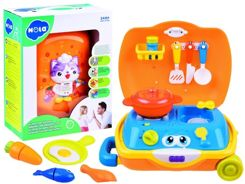 Kitchen for baby + dishes + suitcase ZA2827