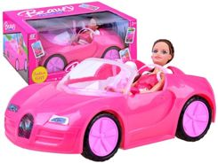 Large Auto Doll Pink Convertible doll ZA1765