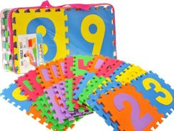 Large foam puzzle digits 30 x 30cm ZA1155