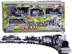 Military Train The electric train smokes RC0422