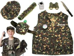 Military attire for a soldier camouflage costume ZA1149