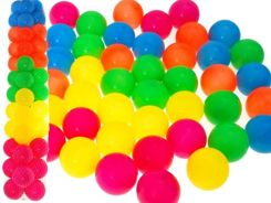 Multicolour BALLS BALLS to the pool 46 pcs ZA1108
