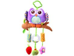 Owl pendant to rattle baby carriage ZA2560