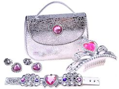 Princess set of crown jewelry handbag ZA2564