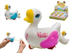 Pulled Swan bath toy water ZA2001
