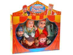Puppet theater puppets Tell me a story ZA0828