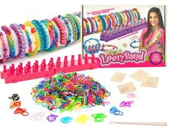 Rainbow Band Bracelets Rubber Bands Loom 1200p ZA0895