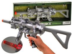 Rifle laser light sound APERTURE ZA1670