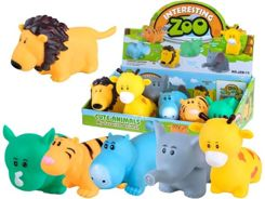 Rubber animal SAFARI elephant, lion, tiger ZA2077