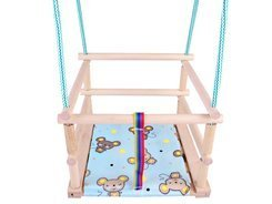 SWING colorful wooden + pillow SP0210