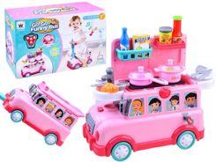 Set 3in1 Toy car rides kitchen on wheels ZA2567