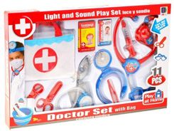 Set LITTLE DOCTOR bag + LIGHT + SOUND ZA1252