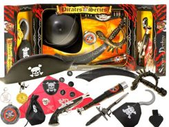 Set PIRATE SEAS Corsair Pirate Lord of ZA1331