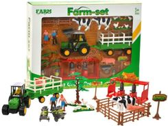 Set of Farm Tractor Cow farm ZA0905