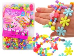 Set of beads to make bracelets ZA1708