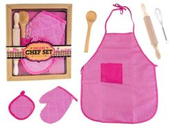 Set of chef apron glove accessories ZA0675