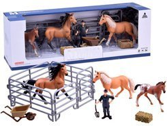 Set of ponies from the farm Animals figurine ZA2604