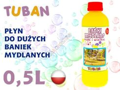 TUBAN Liquid soap bubbles 0.5L bubble ZA1487